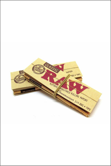 Papers - Raw Classic Connoisseur 1.25 Size W/Tips