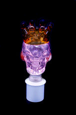 Cone Piece - Glass Skull Crown