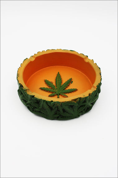 Ashtray - Inca Poly Resin Leaf ASH096