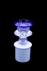 Cone Piece - Glass V Vase Rim Colour