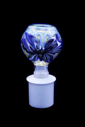 Cone Piece - Glass Bulb Butterfly.