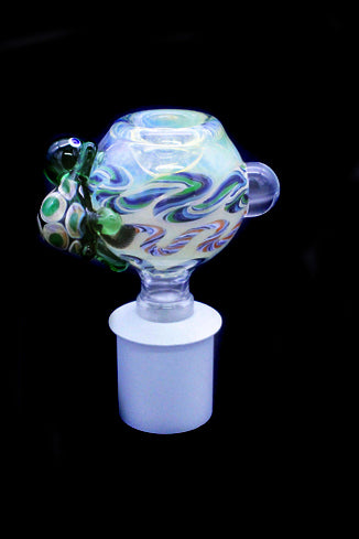 Cone Piece - Glass Bulb Turtle