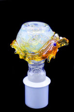 Cone Piece - Glass Bulb Dragon