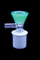 Cone Piece - Glass V Scales Handle