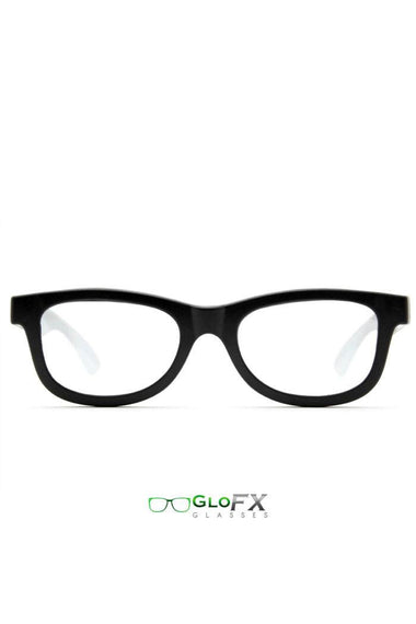 Glasses - GlowFX Standard Diffraction Black