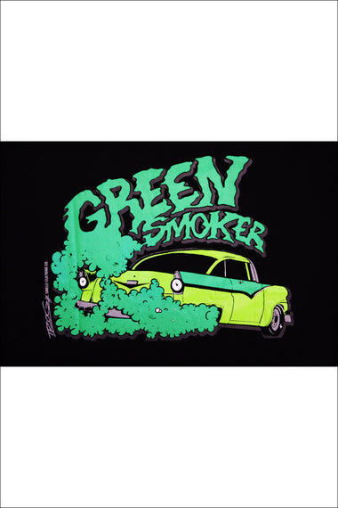 Trog Smelly Clothing TShirt Green Smoker