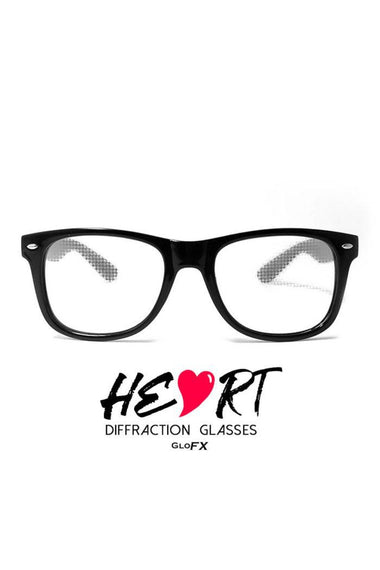 Glasses - GlowFX Specialty Diffraction Black