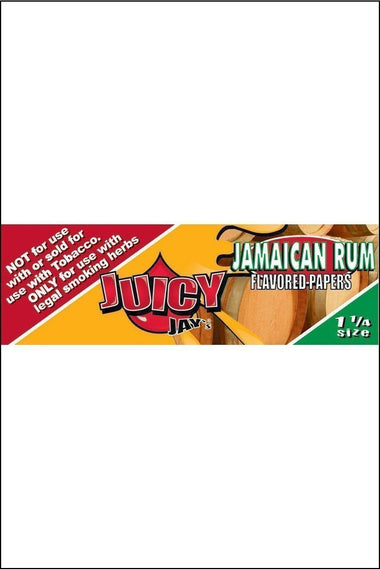 Papers - Juicy Jay's Flavoured 1.25 Size Jamaican Rum