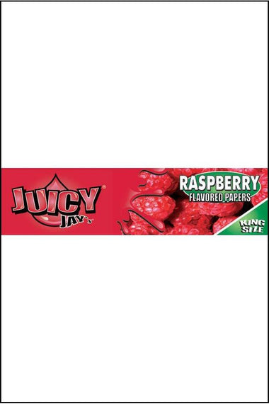 Papers - Juicy Jay's Flavoured KS Size Raspberry