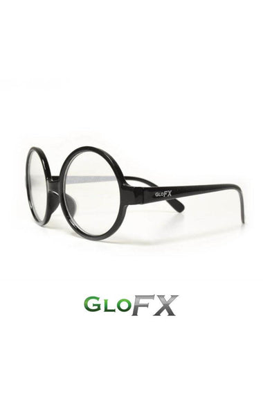 Glasses - GlowFX Specialty Diffraction Round Retro