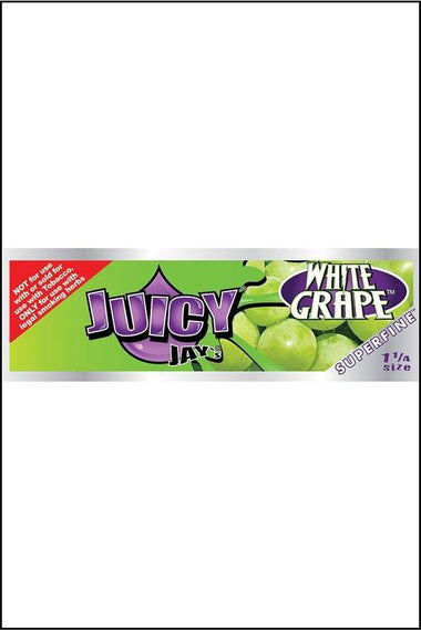 Papers - Juicy Jay's Flavoured Superfine 1.25 Size White Grape