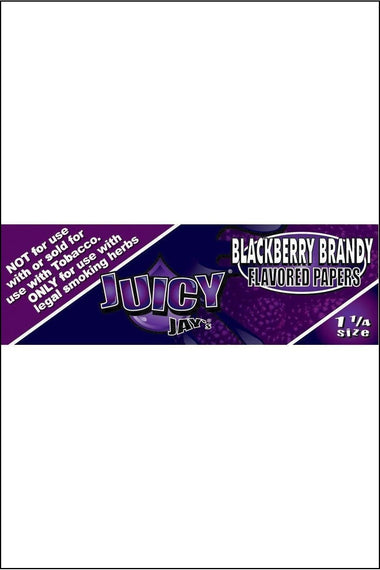 Papers - Juicy Jay's Flavoured 1.25 Size Blackberry Brandy