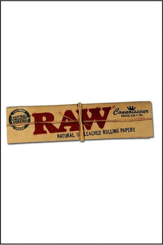 Papers - Raw Classic Connoisseur KS Size W/Tips