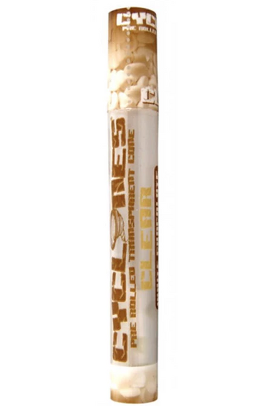 Cyclones Transparent Pre Rolled Clear Cone