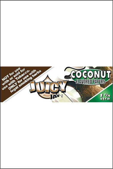 Papers - Juicy Jay's Flavoured 1.25 Size Coconut