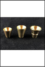 Cone Piece Brass Slip In Sml-Lrg