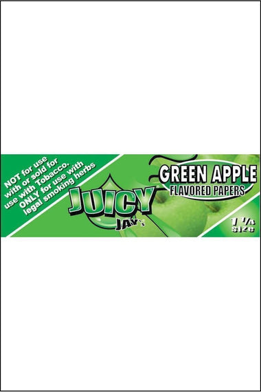 Papers - Juicy Jay's Flavoured 1.25 Size Green Apple