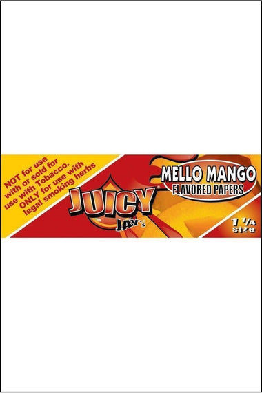 Papers - Juicy Jay's Flavoured 1.25 Size Mello Mango