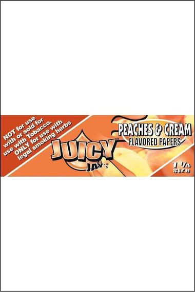 Papers - Juicy Jay's Flavoured 1.25 Size Peaches & Cream