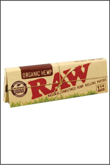 Papers - Raw Organic 1.25 Size