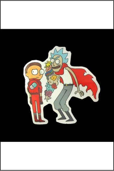 Stickers - Rick & Morty