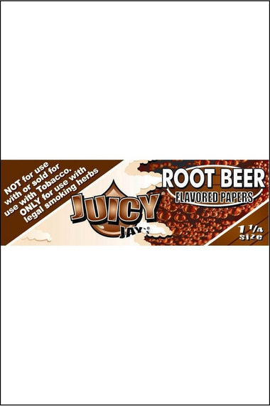 Papers - Juicy Jay's Flavoured 1.25 Size Root Beer