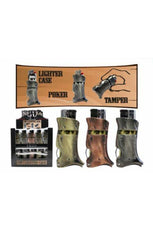 Ned Kelly 3 in 1 Lighter Case Poker Tamper