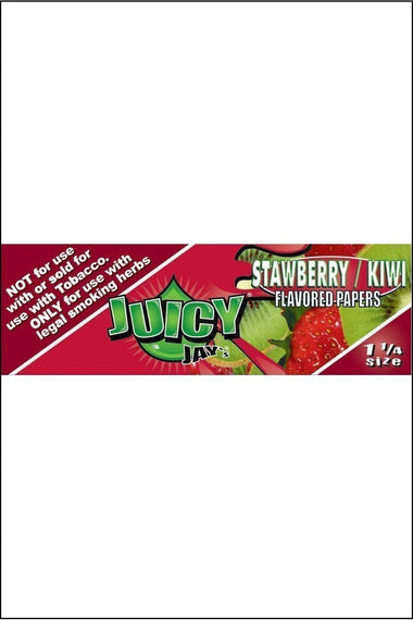 Papers - Juicy Jay's Flavoured 1.25 Size Strawberry Kiwi