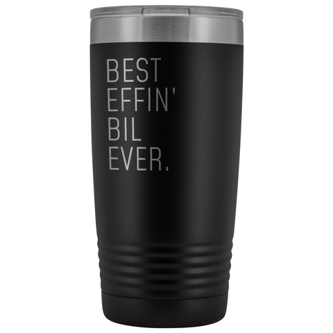 Best Brother-In-Law Ever! Insulated 20oz Tumbler Best BIL Wedding Gifts $29.99 | Black Tumblers