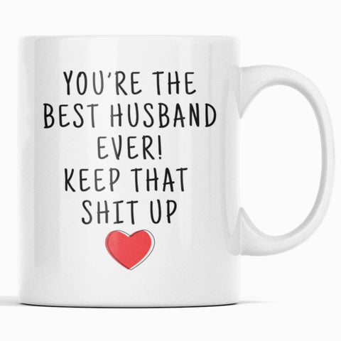 Best Husband Ever! Coffee Mug Funny Husband Gifts Best Husband Gifts Husband Gift Idea $14.99 | Best Husband Ever! Mug Drinkware