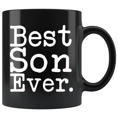 Best Son Ever Gift Unique Son Mug High School Graduation Gift for Son Best Birthday Gift Christmas Son Coffee Mug Tea Cup Black $19.99 |