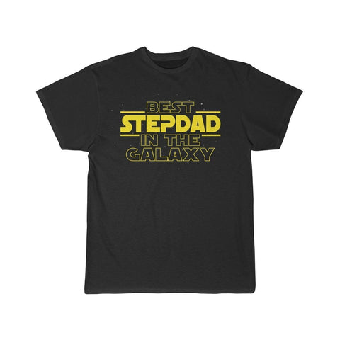 Best Step Dad In The Galaxy T-Shirt $16.99 | Black / L T-Shirt