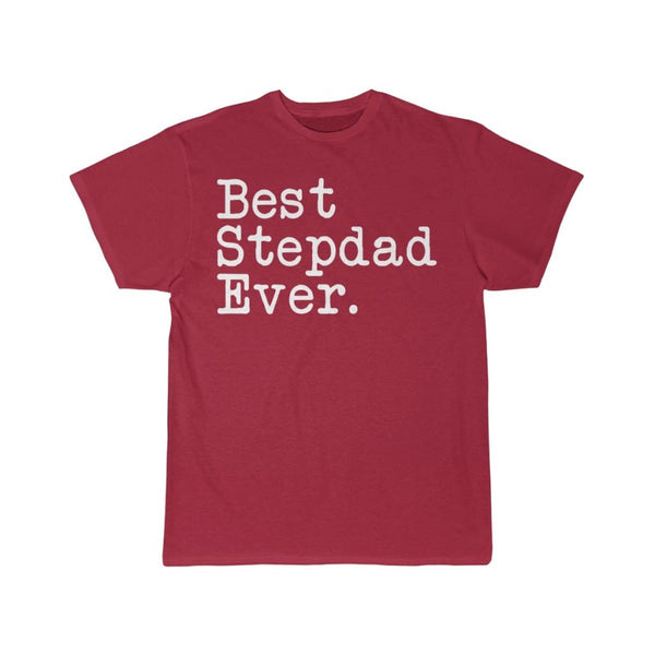 Best Stepdad Ever T-Shirt Father's Day Gift for Step Dad Tee Birthday Gift Step Dad Christmas Gift New Stepdad Gift Unisex Shirt