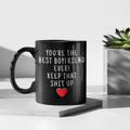 Boyfriend Gifts Best Boyfriend Ever Mug Boyfriend Coffee Mug Boyfriend Coffee Cup Boyfriend Gift Coffee Mug Tea Cup Black