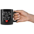 Cat Lover Gifts Men Best Cat Dad Ever Mug Cat Dad Coffee Mug Cat Dad Coffee Cup Cat Dad Gift Coffee Mug Tea Cup Black