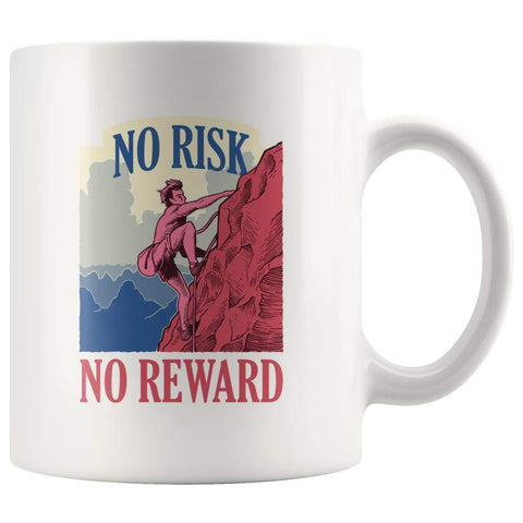 Climber Coffee Mug - Climbing Gift Mug For Men and Women - BackyardPeaks