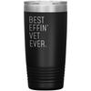 Customized Name Personalized Unique Gifts for Veterinarian Insulated 20oz Tumbler
