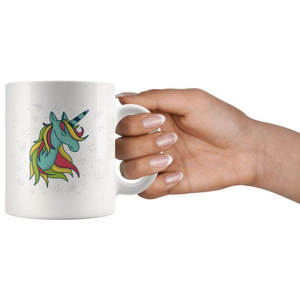 Cute Unicorn Coffee Mug - BackyardPeaks