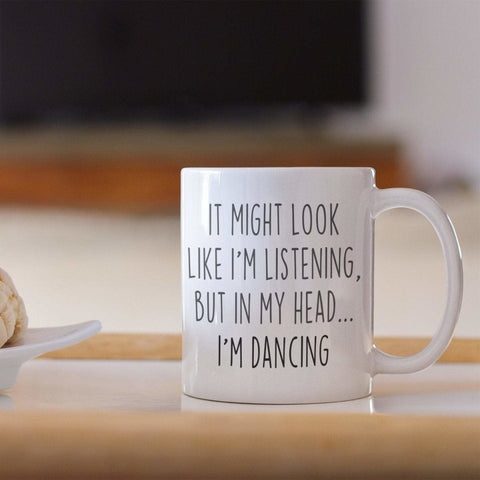 Dancer Gifts Sarcastic Dancing Dance Student Coffee Mug Funny Gift for Dancer Women Dance Teacher Gifts for Girls Teens and Adults $18.99 |