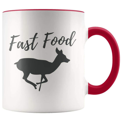 Fast Food Mug - Funny Hunter Coffee Mug - BackyardPeaks