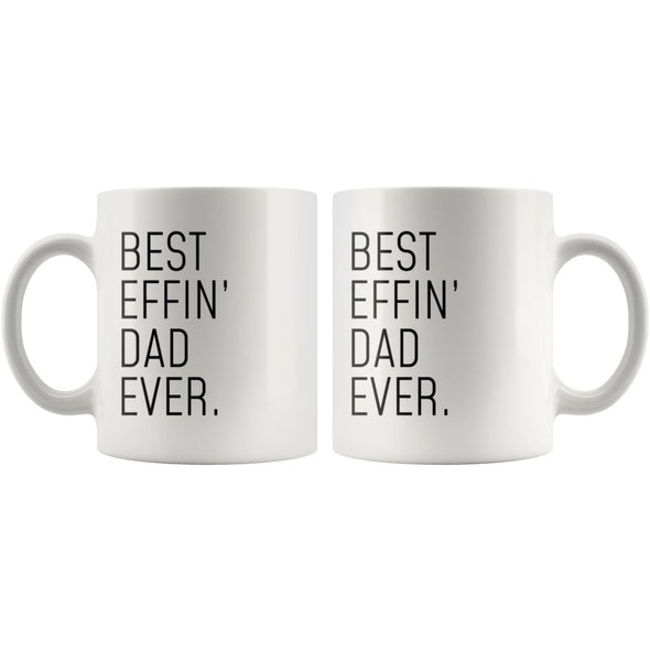 Funny Dad Gift: Best Effin Dad Ever. Coffee Mug 11oz $19.99 | Drinkware