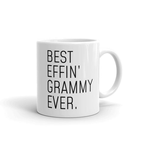 Funny Grammy Gift: Best Effin Grammy Ever. Coffee Mug 11oz $19.99 | 11 oz Drinkware