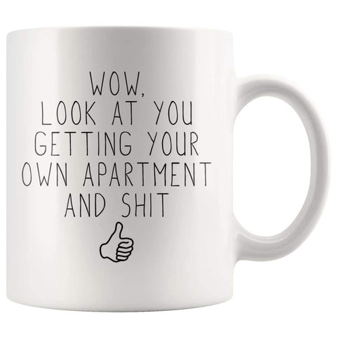 Funny Moving Out Gift, New Apartment Gift, Housewarming Coffee Mug - BackyardPeaks
