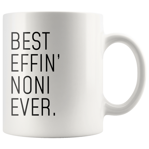 Funny Noni Gift: Best Effin Noni Ever. Coffee Mug 11oz $18.99 | 11oz Drinkware