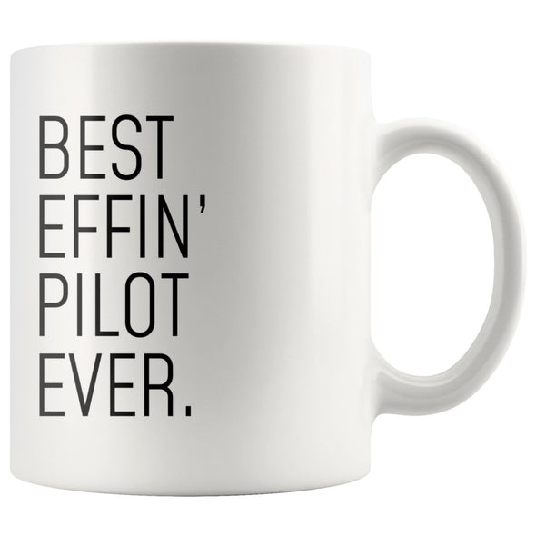 Funny Pilot Gift: Best Effin Pilot Ever. Coffee Mug 11oz $19.99 | Drinkware