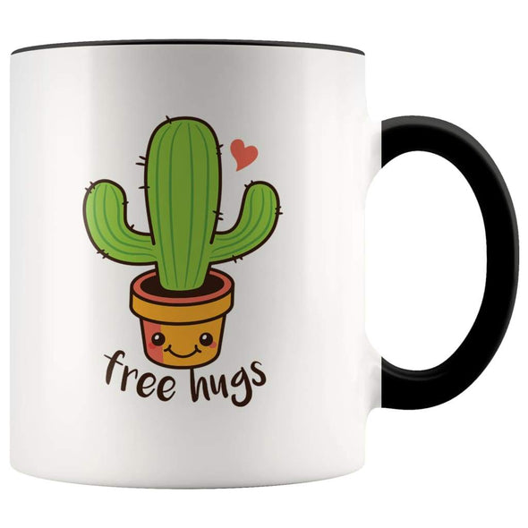 Funny Succulents Coffee Mug - Free Hugs Cactus Mug - BackyardPeaks