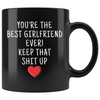 Girlfriend Gifts Best Girlfriend Ever Mug Girlfriend Coffee Mug Girlfriend Coffee Cup Girlfriend Gift Coffee Mug Tea Cup Black $19.99 | 11oz