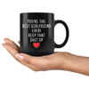 Girlfriend Gifts Best Girlfriend Ever Mug Girlfriend Coffee Mug Girlfriend Coffee Cup Girlfriend Gift Coffee Mug Tea Cup Black $19.99 |