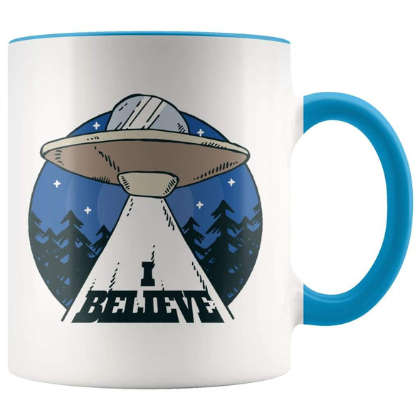 I Believe Alien Coffee Mug - Alien Gifts - BackyardPeaks