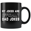New Dad Mug Pregnancy Announcement To Husband My Jokes Are Officially Dad Jokes New Dad Gift First Time Dad Gift